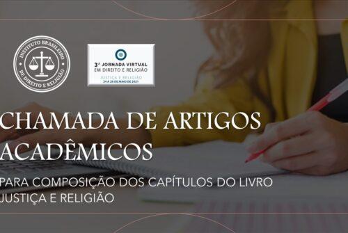 EDITAL DE CHAMADA DE ARTIGOS PARA PUBLICAÇÃO DE LIVRO